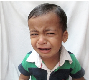 toddler cry