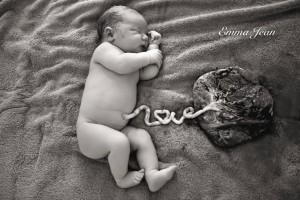Baby met placenta