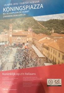 Flyer koninklijke piazza